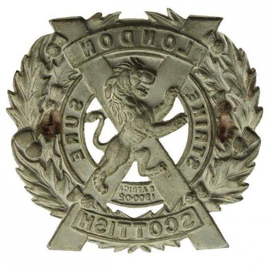additional image for 14th Battalion, The London Scottish Regiment Cap Badge