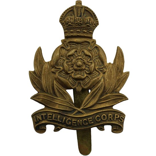 Intelligence Corps WW2 Intelligence Corps Cap Badge