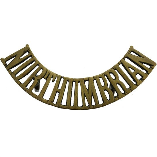 Northumbrian Regiment Shoulder Title