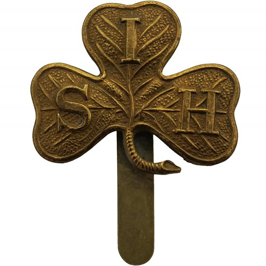 South Irish Horse WW1 South Irish Horse Yeomanry Regiment Cap Badge