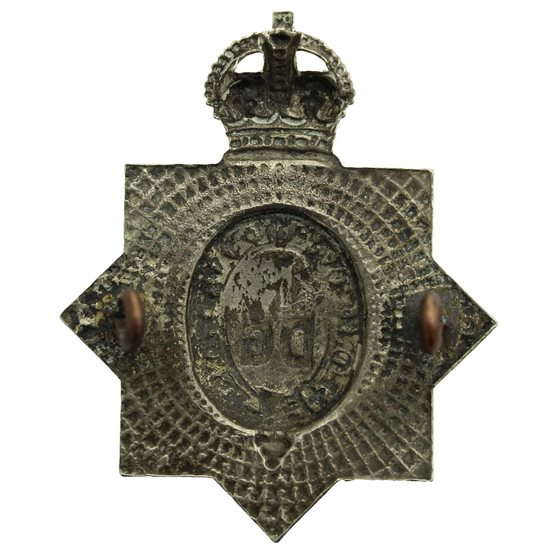 additional image for WW1 1st Kings Dragoon Guards Regiment KDG (King's) Cap Badge FIRST PATTERN