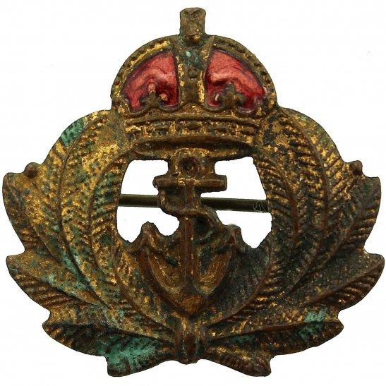 Merchant Navy British Merchant Navy MN Naval Sweetheart Brooch