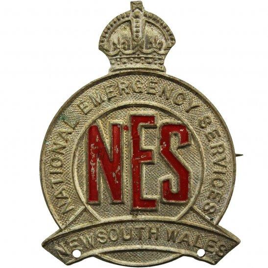 WW2 Australian Army WW2 National Emergency Service NES New South Wales NSW Australian Lapel Badge