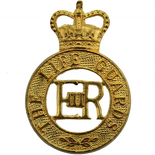 Life Guards The Life Guards Regiment Cap Badge - Queens Crown