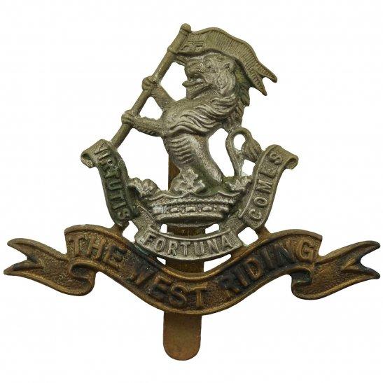 West Riding Duke of Wellingtons West Riding Regiment Cap Badge
