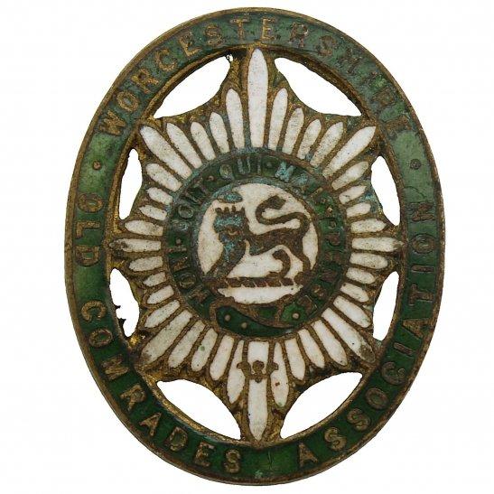 Worcestershire Regiment Worcestershire Regiment Old Comrades Association OCA Lapel Badge