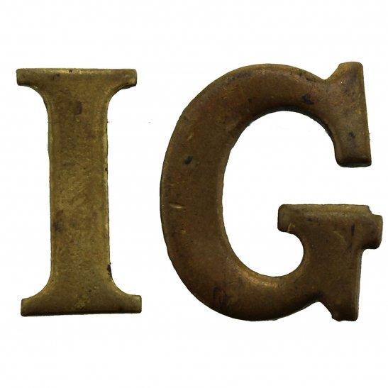 Irish Guards Irish Guards Regiment Shoulder Title