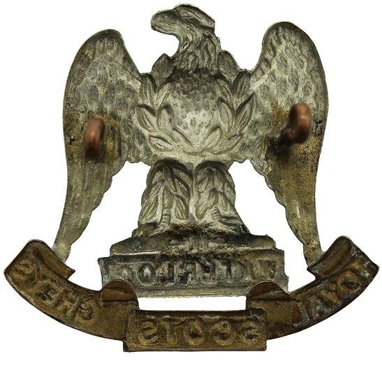 additional image for Royal Scots Greys Regiment Cap Badge - LUGS VERSION