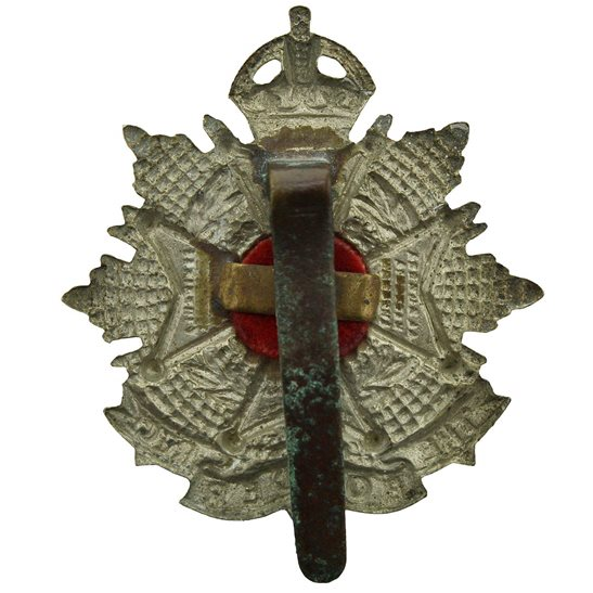 additional image for WW1 The Border Regiment Cap Badge