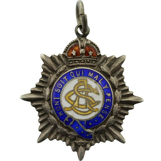 Army Service Corps ASC WW1 Army Service Corps ASC Necklace Pendant Sweetheart Brooch