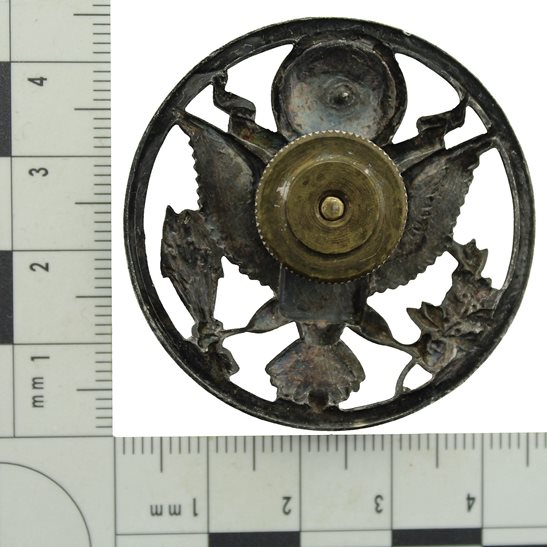 additional image for WW2 United States US Army American Infantry Cap Badge