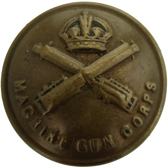 Machine Gun Corps MGC WW1 Machine Gun Corps MGC Tunic Button - Small 19mm