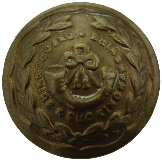 Oxfordshire & Buckinghamshire Light Infantry Oxfordshire & Buckinghamshire Light Infantry Regiment SMALL Tunic Button - 19mm