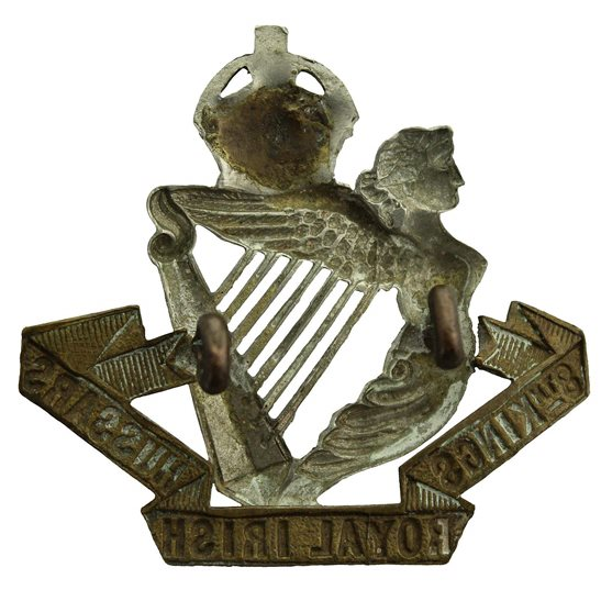 additional image for 8th Kings Royal Irish Hussars Regiment (King's) Cap Badge - LUGS VERSION
