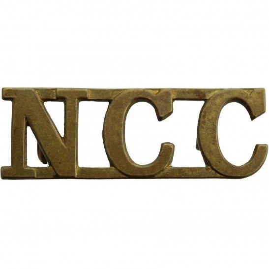 Non Combatant Corps NCC Cap Badge - Conscientious Objectors