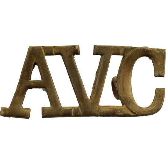 Army Veterinary Corps AVC WW1 Army Veterinary Corps AVC Shoulder Title