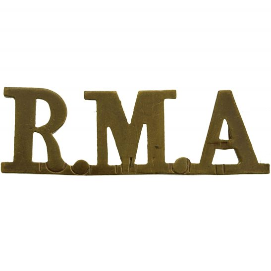 Royal Marines WW1 Royal Marine Artillery Regiment RMA Shoulder Title