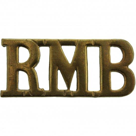 Royal Marines Royal Marines Band Corps RMB Shoulder Title