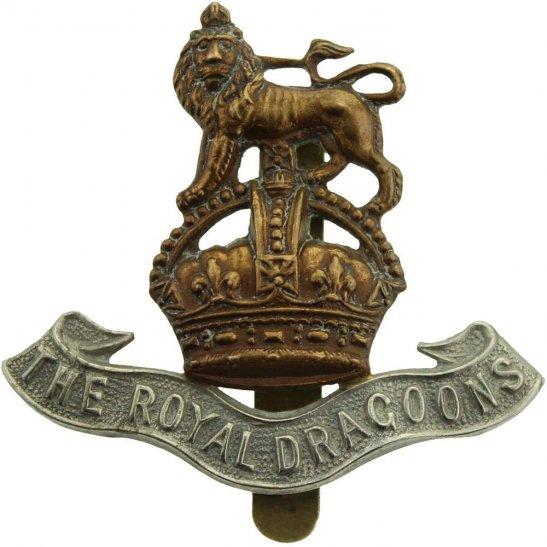 1st Royal Dragoons WW1 1st The Royal Dragoons Regiment Cap Badge