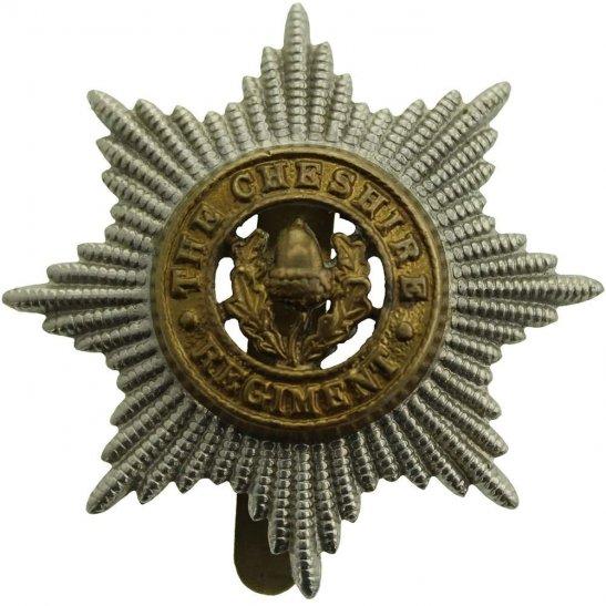 Cheshire Regiment WW2 Cheshire Regiment Cap Badge