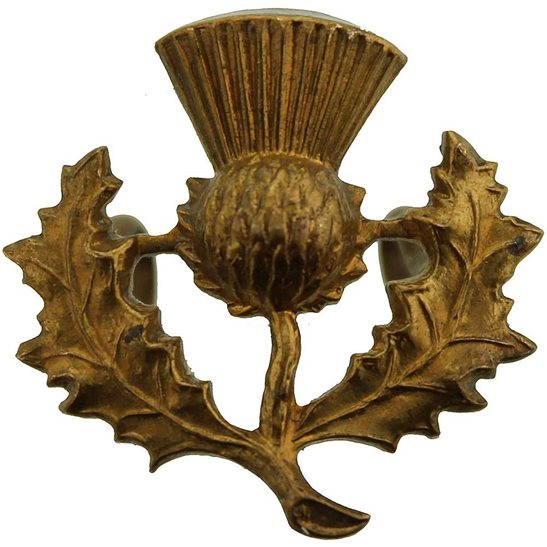 London Scottish 14th Battalion, The London Scottish Regiment Collar Badge
