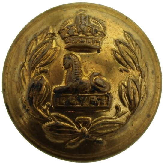 Lancashire Fusiliers Lancashire Fusiliers Regiment SMALL Tunic Button - 19mm