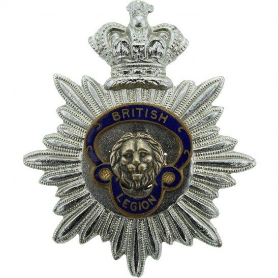 Royal British Legion Royal British Legion RBL Bandsman Musicians (Bandmaster) Cap Badge