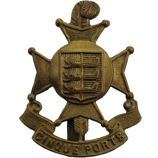 Royal Sussex WW1 5th Cinque Ports Battalion, Royal Sussex Regiment Cap Badge