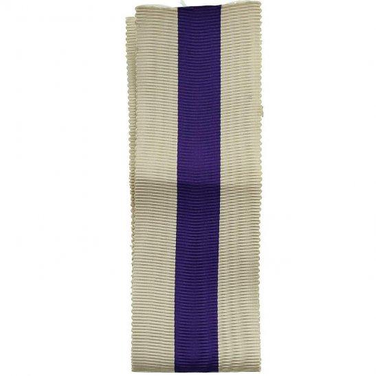 WW1 / WW2 Spare British Military Cross Medal MC SILK Ribbon - Measures 8 Inches