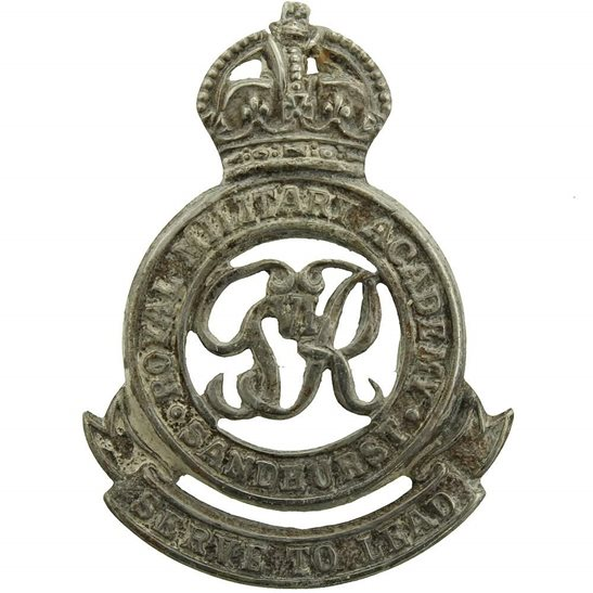 Officer Training Corps OTC Royal Military Academy Sandhurst Officers Training Corps OTC Collar Badge