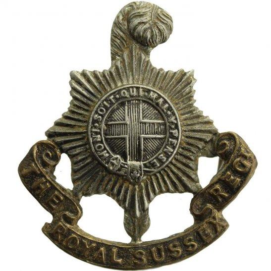 Royal Sussex Royal Sussex Regiment Cap Badge - LUGS VERSION