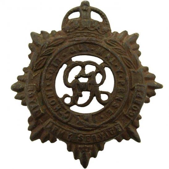 Royal Army Service Corps RASC UK Dug Detecting Find - WW2 Royal Army Service Corps RASC Relic Cap Badge