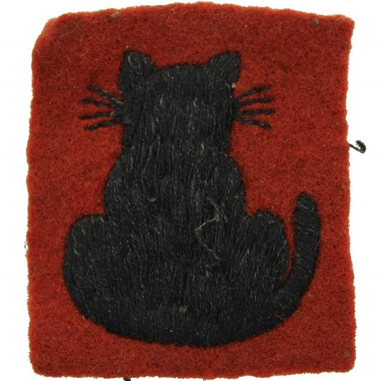 WW2 56th London Division 1940 PATTERN Cloth Formation Sign Patch Badge