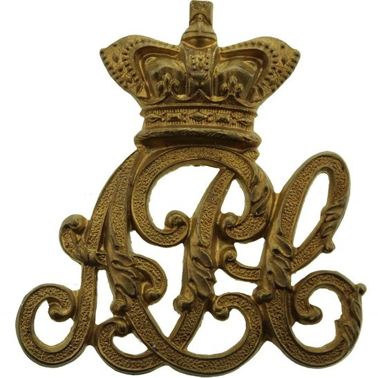 Army Pay Corps APC VICTORIAN Army Pay Corps APC Cap Badge - QVC