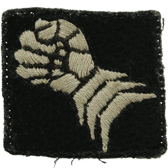 WW2 20th Armoured Brigade Cloth Formation Sign Patch Badge