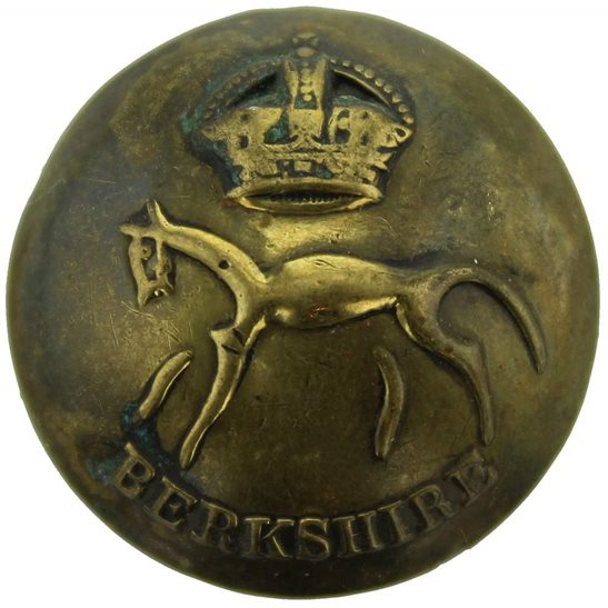 Berkshire Yeomanry Berkshire Yeomanry Regiment Tunic Button - 26mm