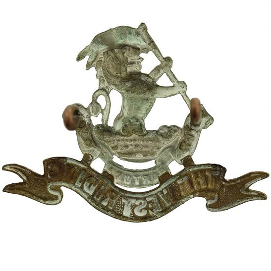 additional image for Duke of Wellingtons West Riding Regiment Cap Badge - LUG VERSION