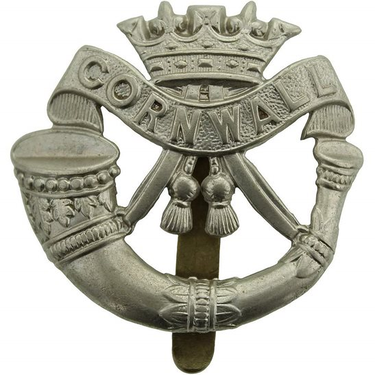 Duke of Cornwalls Light Infantry Duke of Cornwalls Light Infantry DCLI (Cornwall's) Regiment Cap Badge