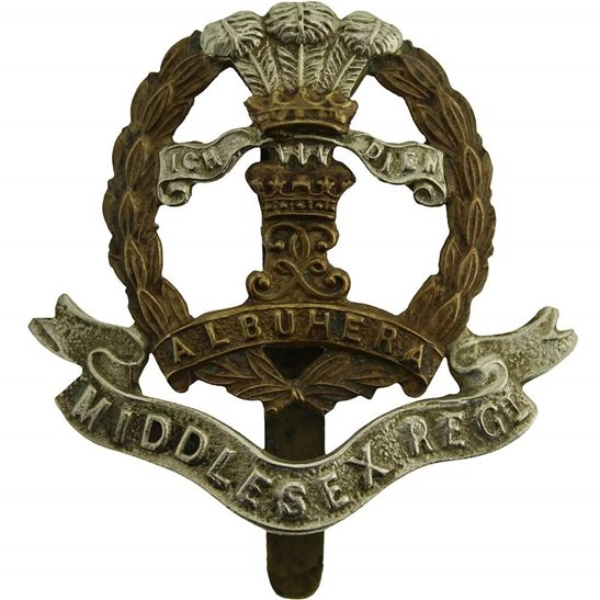 Middlesex Regiment Middlesex Regiment Cap Badge