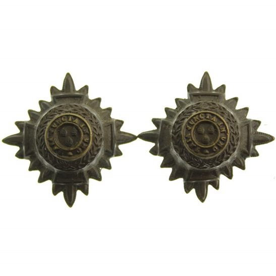 British Army Officers Insignia Pips - Rank of 2nd Lieutenant Set PAIR - 25mm Diagonally