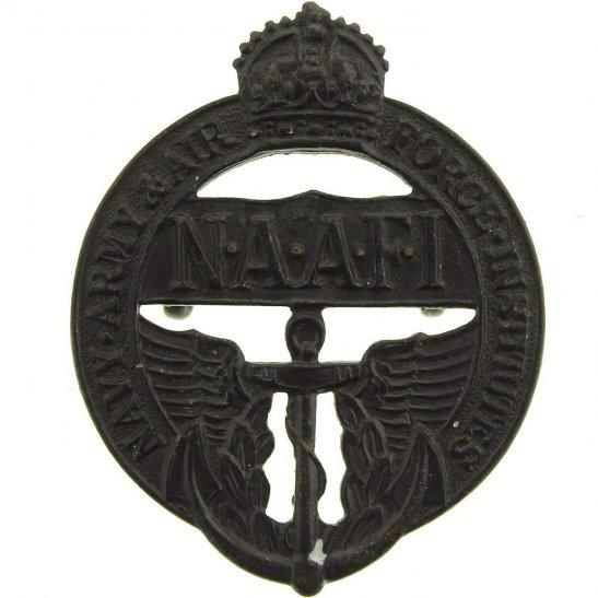 NAAFI Navy, Army and Air Force Institute NAAFI Cap Badge