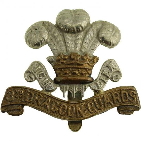 3rd Dragoon Guards WW1 3rd Dragoon Guards Regiment Cap Badge