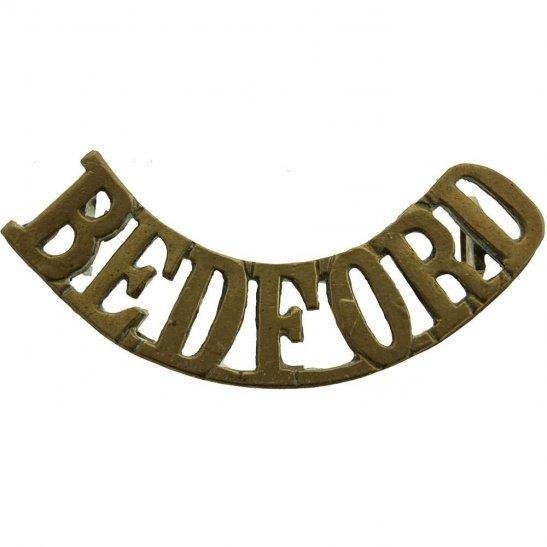 Bedfordshire Regiment Bedfordshire Regiment Shoulder Title