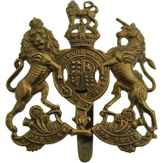General Service Corps WW1 General Service Corps / Regiment Cap Badge