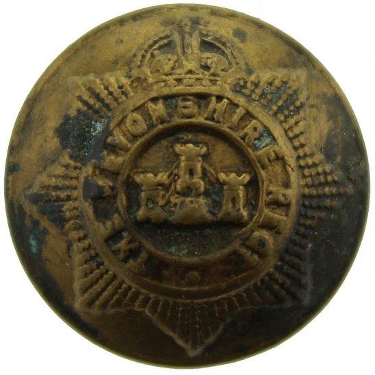 Devonshire Regiment Devonshire Regiment SMALL Tunic Button - 20mm