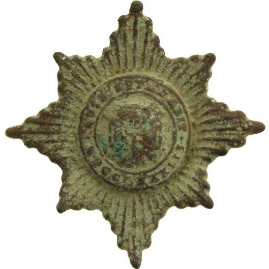 Irish Guards UK Dug Detecting Find - WW1 Irish Guards Regiment Relic Collar Badge