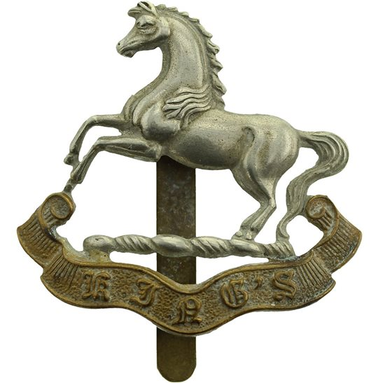 Kings Liverpool WW2 Kings Liverpool Regiment (King's) Cap Badge