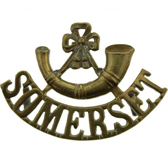 Somerset Light Infantry Somerset Light Infantry Regiment Shoulder Title