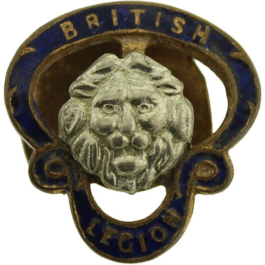 Royal British Legion Royal British Legion RBL Members Small Lapel Badge