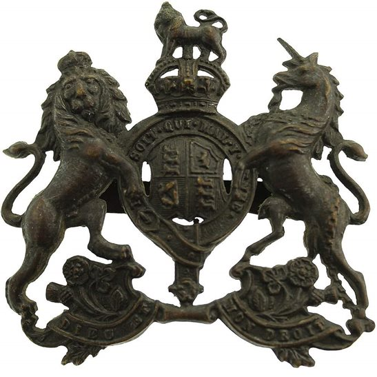 General Service Corps General Service Corps (Regiment) OFFICERS Bronze Cap Badge